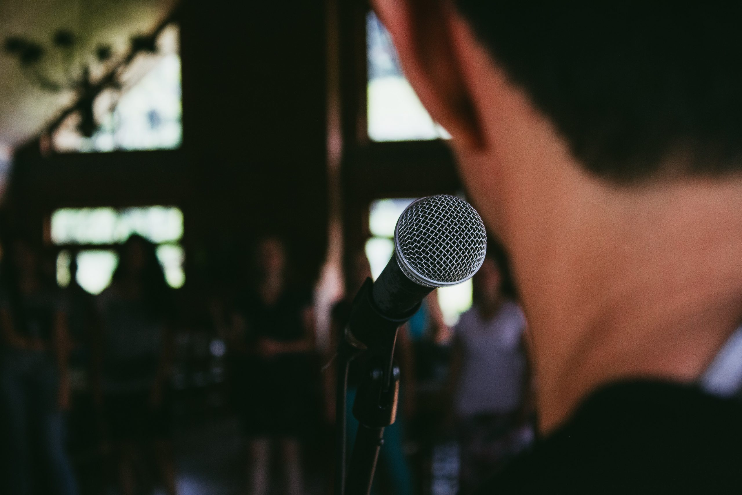 Developing confidence in public speaking